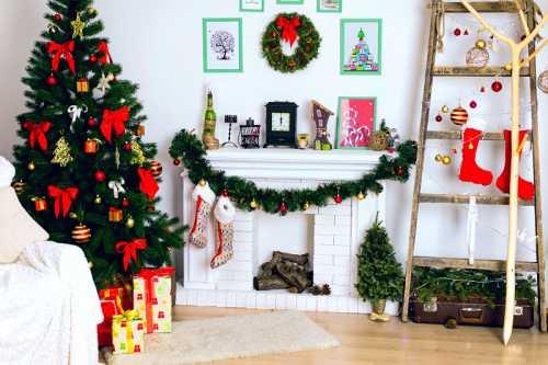 Как украсить загородный дом к Новому Году и Рождеству