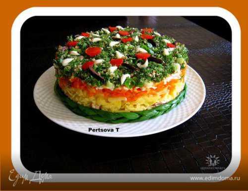 Салат с тунцом пошаговый рецепт