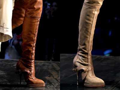 Модная обувь осень/зима 2010-2011