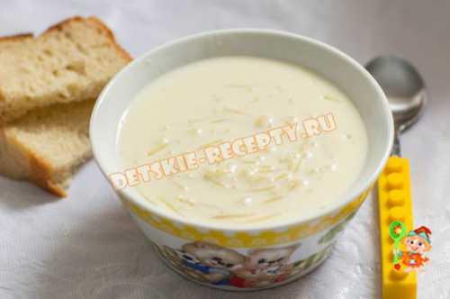 Детские рецепты Детский суп