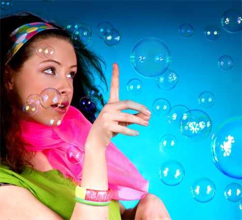 Мыльные пузыри в домашних условиях: как сделать