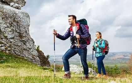 Чем полезна скандинавская ходьба с палками