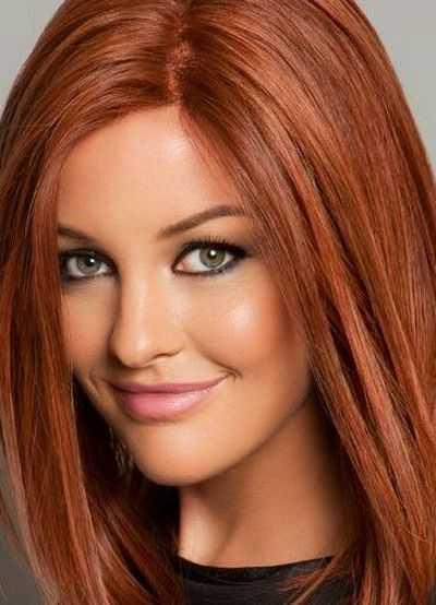 Рыжие волосы, зеленые глаза