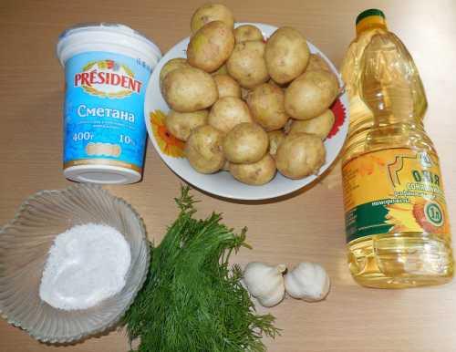 Молодая картошка с укропом: простой и доступный рецепт