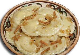 Вареники с картошкой: пошаговый фото