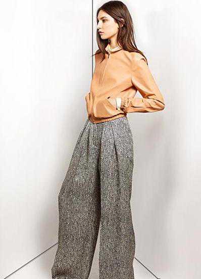 Модные широкие брюки 2013