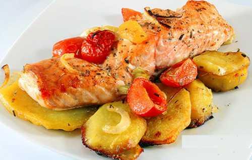 Рецепты красной рыбы с картошкой, секреты выбора