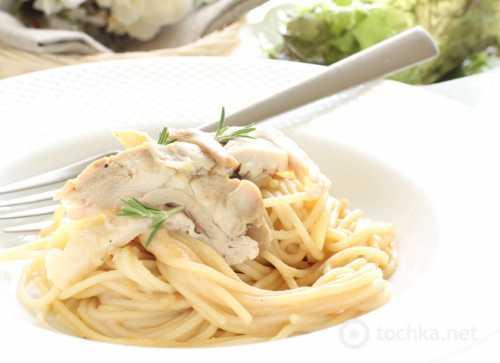 Рецепты спагетти в сливочном соусе, секреты