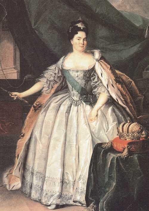 Екатерина I Триумф лифляндской прачки