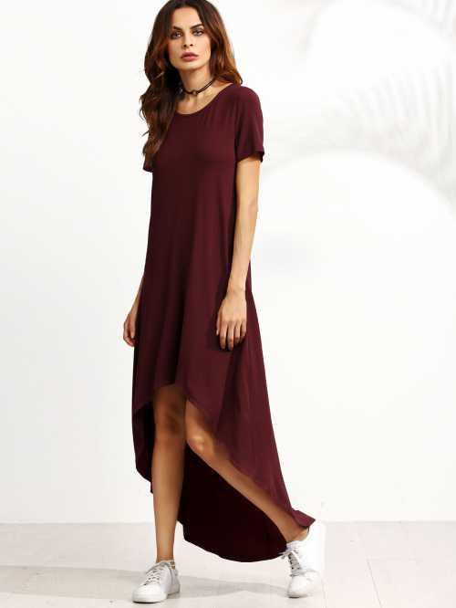 Модное асимметричное платье