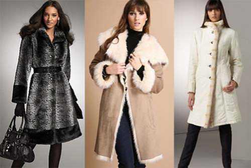 Модная женская зимняя одежда