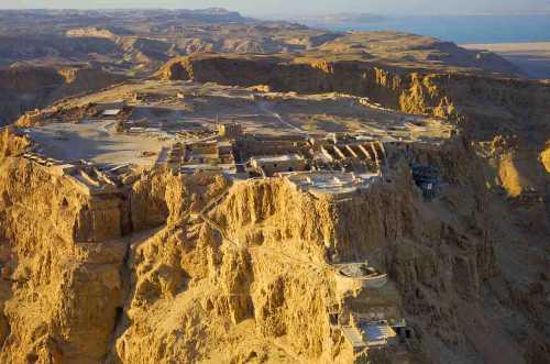 Крепость Массада, Масада