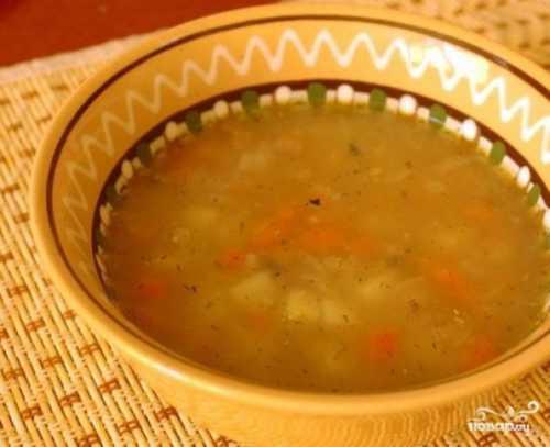 Суп из скумбрии