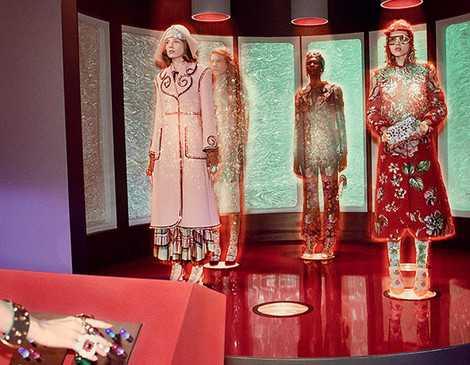 Gucci представили новую галактическую рекламную кампанию фото