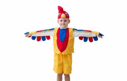 Изготовление костюма петушка  для мальчика