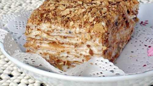 Рецепты торта Наполеон в домашних условиях,