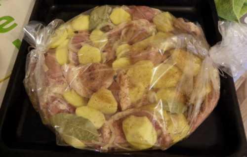 Курица идеальное дополнение для картофеля и грибов