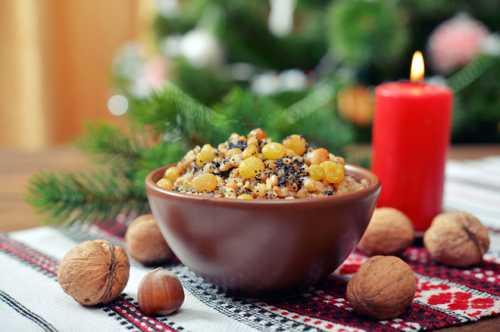 Как готовить кутью: рецепт приготовления на Рождество