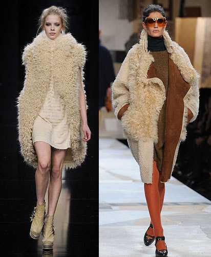 Модные шубы сезона зима 2012